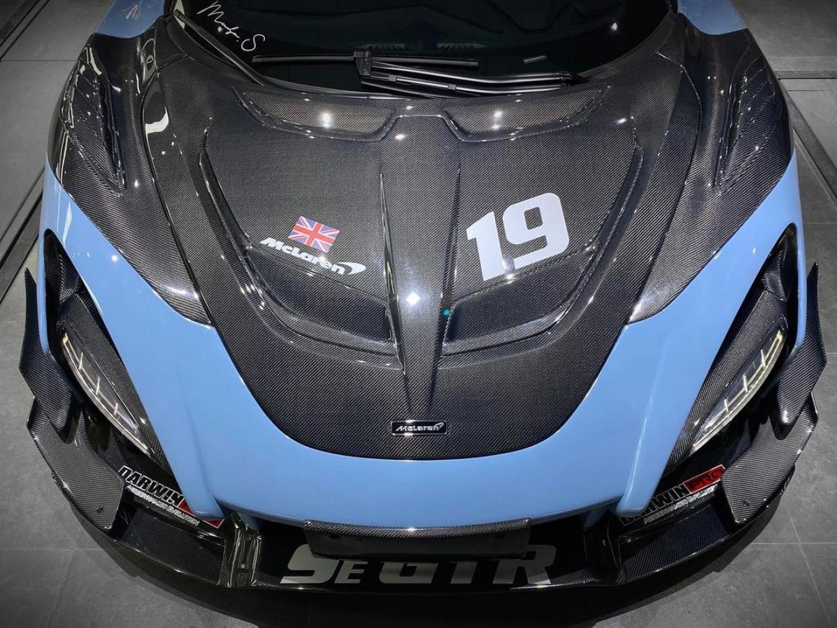 Darwinpro - công ty chuyên cung cấp các bộ body kit hậu mãi cho siêu xe, muốn chủ nhân của 720S thưởng thức món đồ chơi đường đua triệu đô trong phiên bản mới nhất của mình.