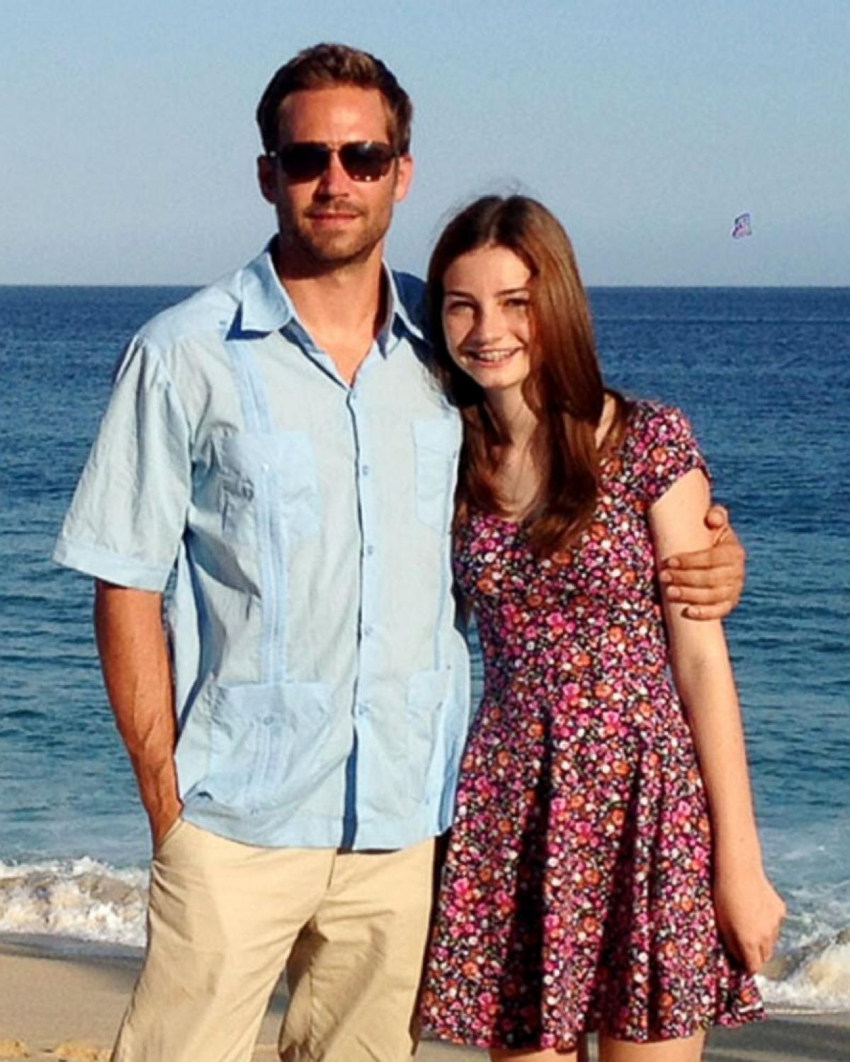 Paul Walker và con gáiMeadow Walker