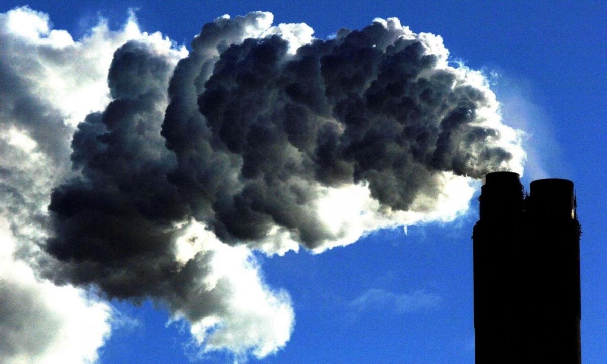 Lượng khí thải carbon tăng trở lại vào năm 2021 sau khi giảm kỷ lục vì Covid-19. Ảnh minh họa: PA.