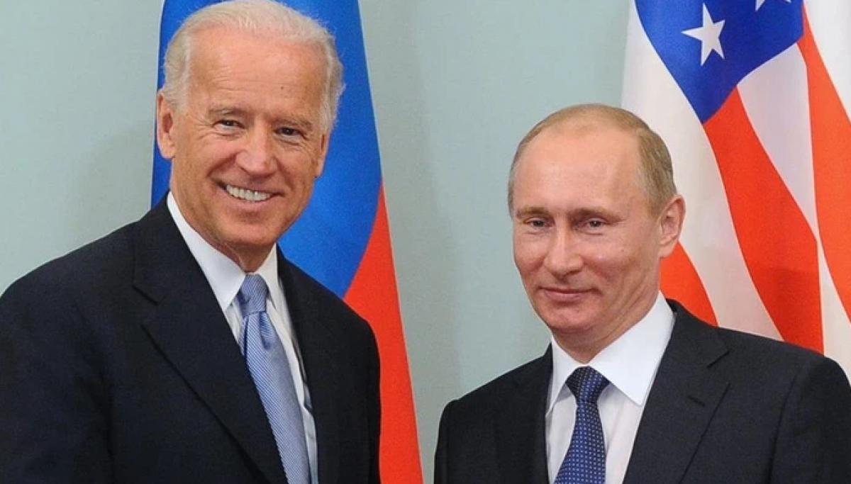 Tổng thống Joe Biden và Tổng thống Nga Vladimir Putin. Ảnh: Reuters