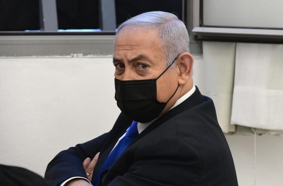 Ông Netanyahu sẽ trở thành lãnh đạo phe đối lập nếu bị đánh bật khỏi chức Thủ tướng Israel. Ảnh: AP