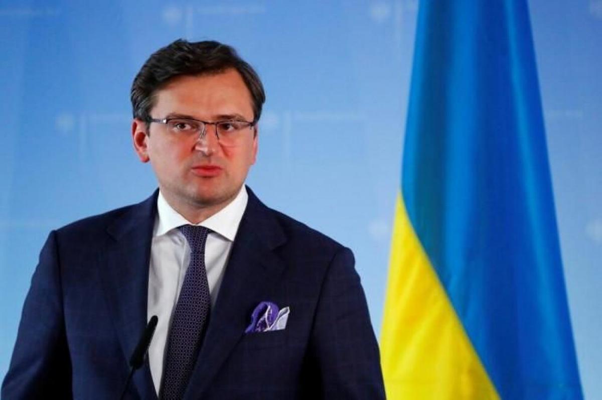 Bộ trưởng Ngoại giao Ukraine Dmitry Kuleba. Ảnh: KT