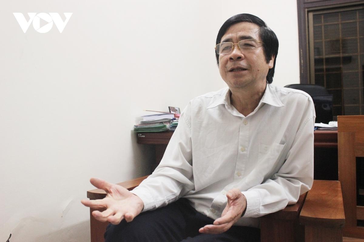 PGS.TS Nguyễn Minh Tuấn-Viện trưởng Viện Xây dựng Đảng, Học viện Chính trị Quốc gia Hồ Chí Minh (Ảnh: Trọng Phú)