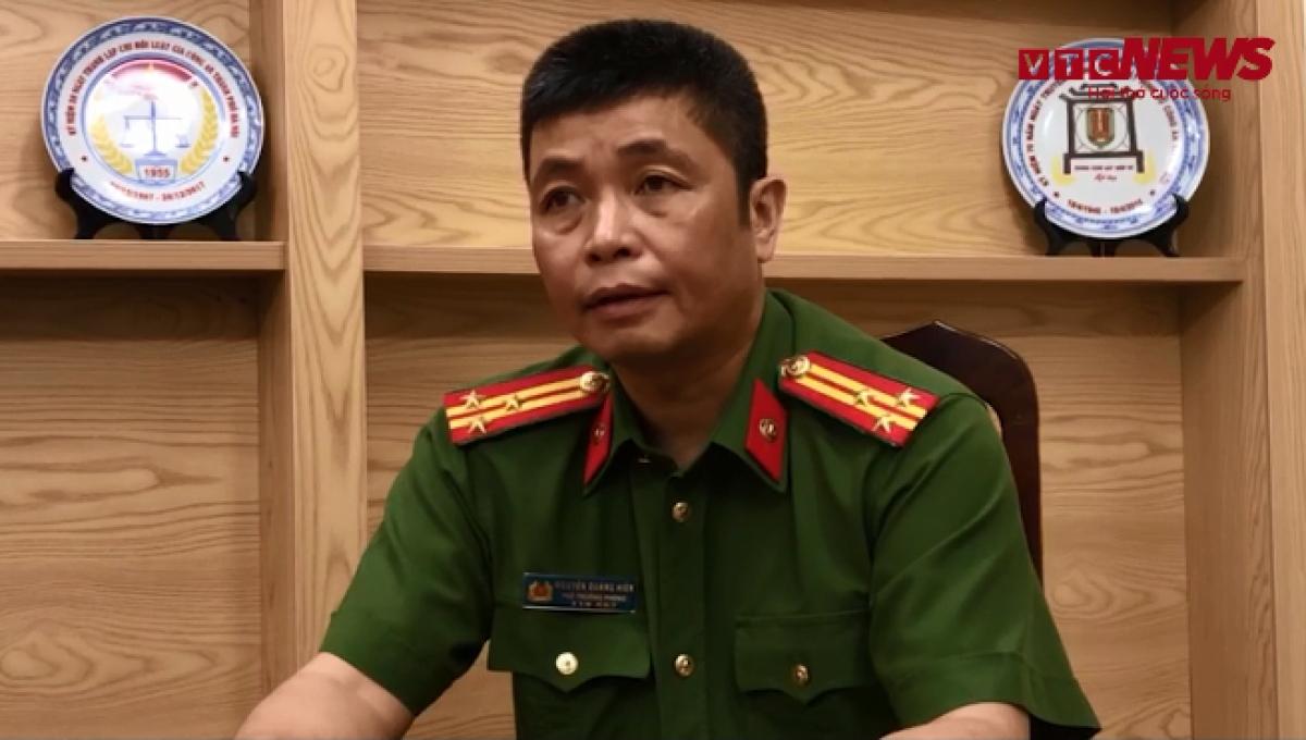 Thượng tá Nguyễn Quang Hiền.