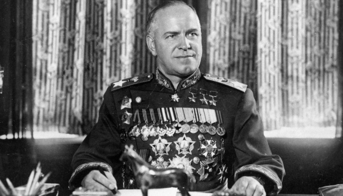 Chân dung Nguyên soái Zhukov. Ảnh: Sputnik.
