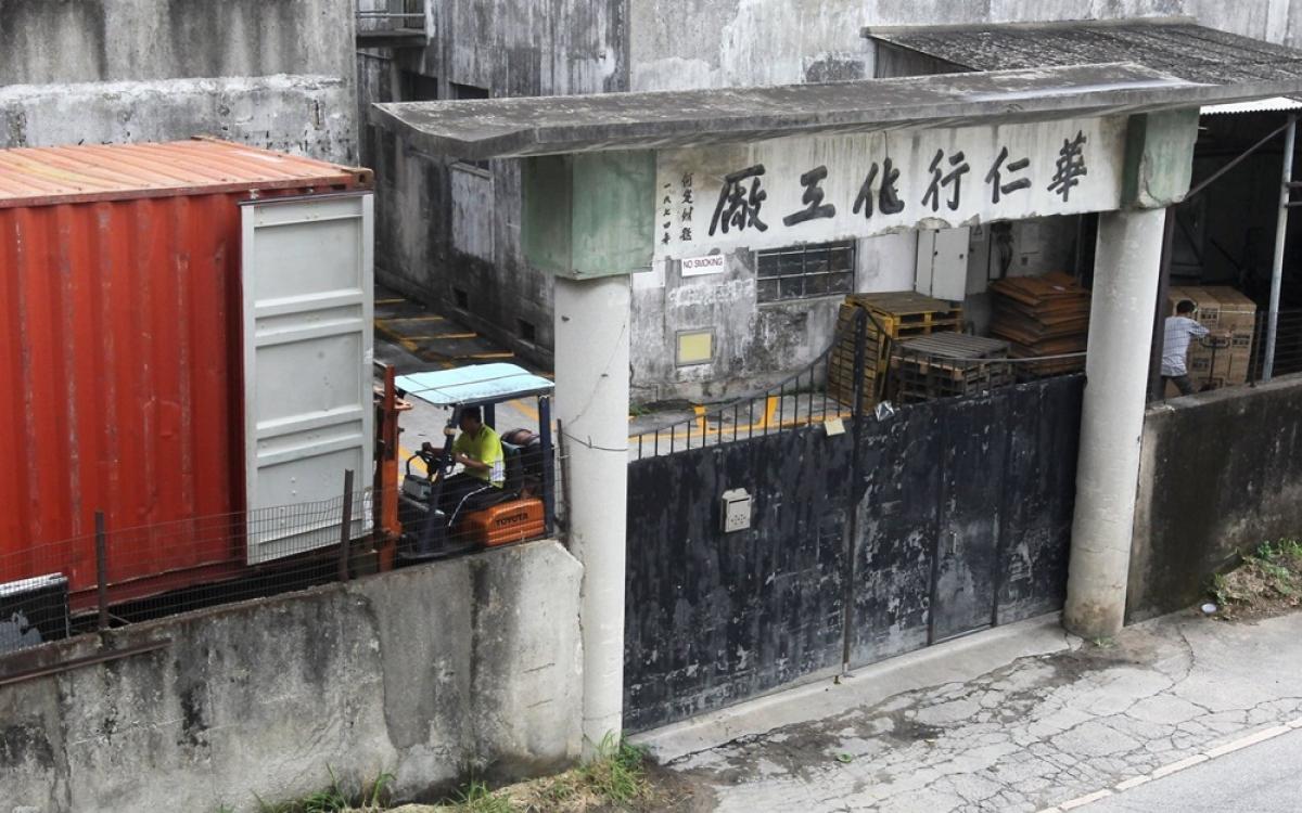 Một nhà máy hóa chất ở Trung Quốc. Ảnh: Getty.