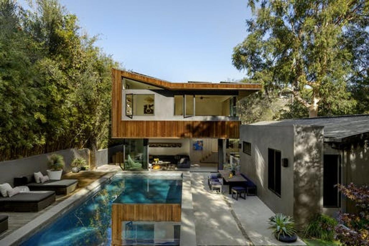 Wonderland Park Residence ở Los Angeles. Ảnh: Laure Joliet