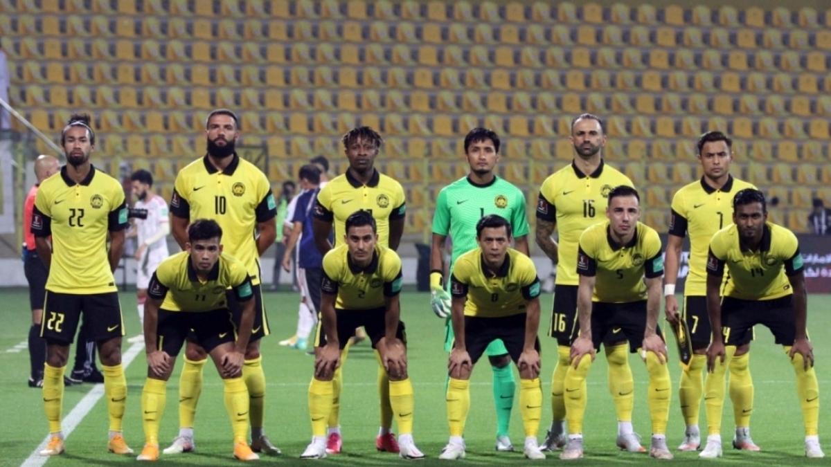ĐT Malaysia thua 0-4 ĐT UAE ở lượt trận thứ 6 (Ảnh: FAM).