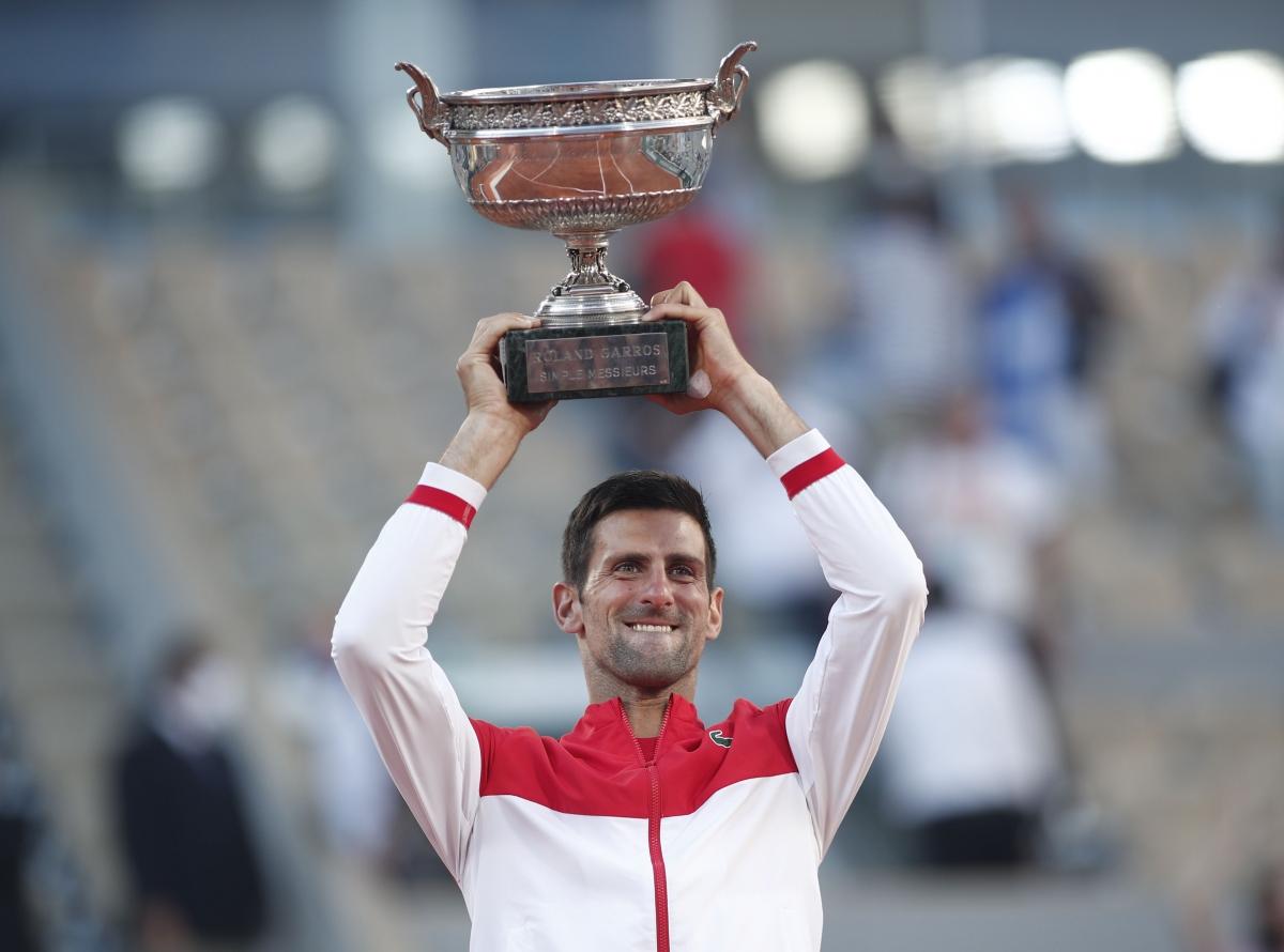 Djokovic đăng quang thuyết phục ở Roland Garros 2021. (Ảnh: Reuters).