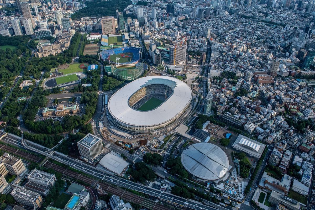 Sân vận động Quốc gia của Nhật Bản. (Ảnh: Reuters)