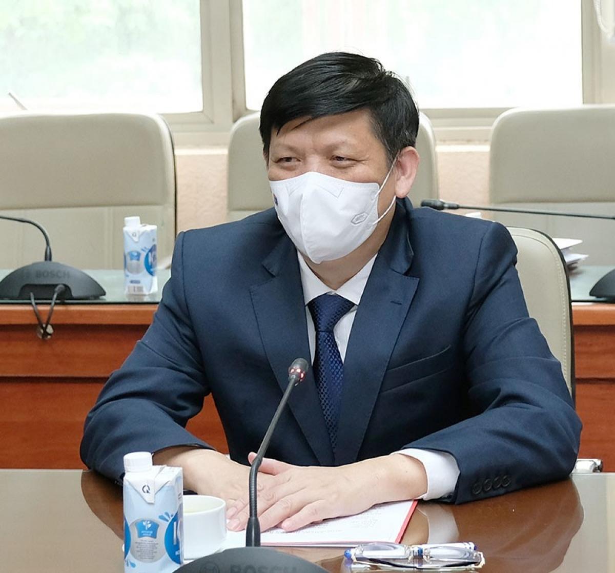 Bộ trưởng Nguyễn Thanh Long tại buổi tiếp. (Ảnh: Trần Minh)