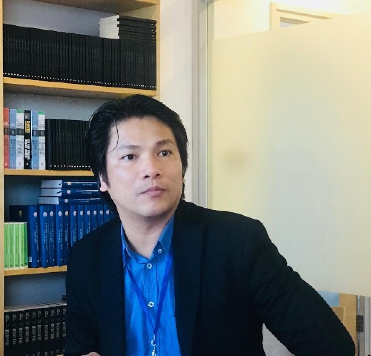 Ông Vũ Thế Bình, Phó Chủ tịch kiêm Tổng Thư ký Hiệp hội Internet Việt Nam (Ảnh: HNV)