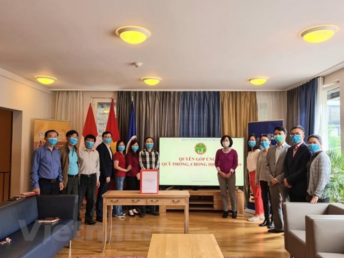 Fund-raising ceremony held in Switzerland