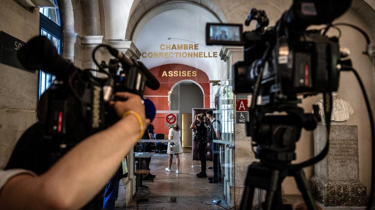 Phiên xét xử Damien Tarel ngày 10/6. Ảnh: FranceInfo