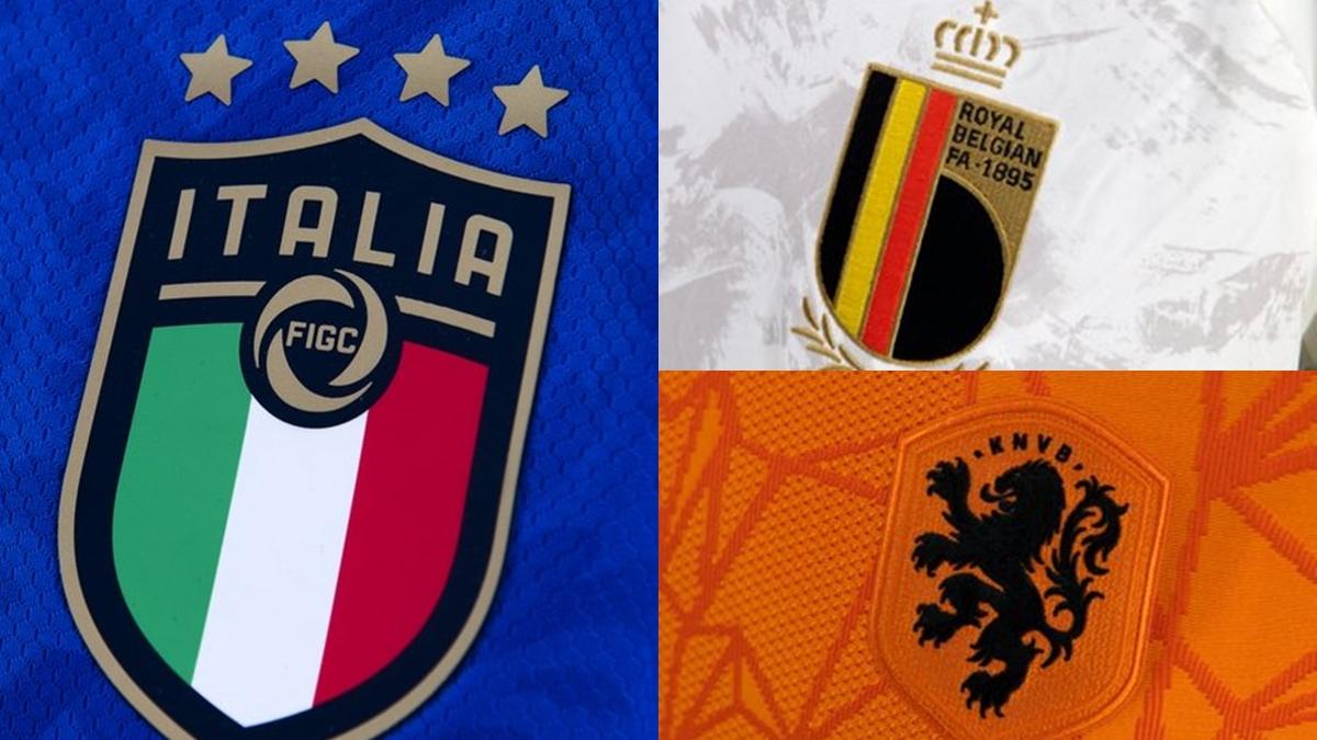 Italia, Bỉ và Hà Lan là 3 đội bóng giành vé đi tiếp./.
