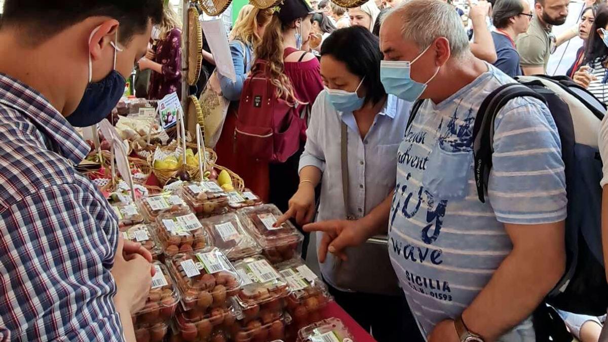 Dự kiến một số lượng lớn vải Việt Nam sẽ tiếp tục được nhập khẩu chính ngạch vào thị trường Pháp trong tuần tới.