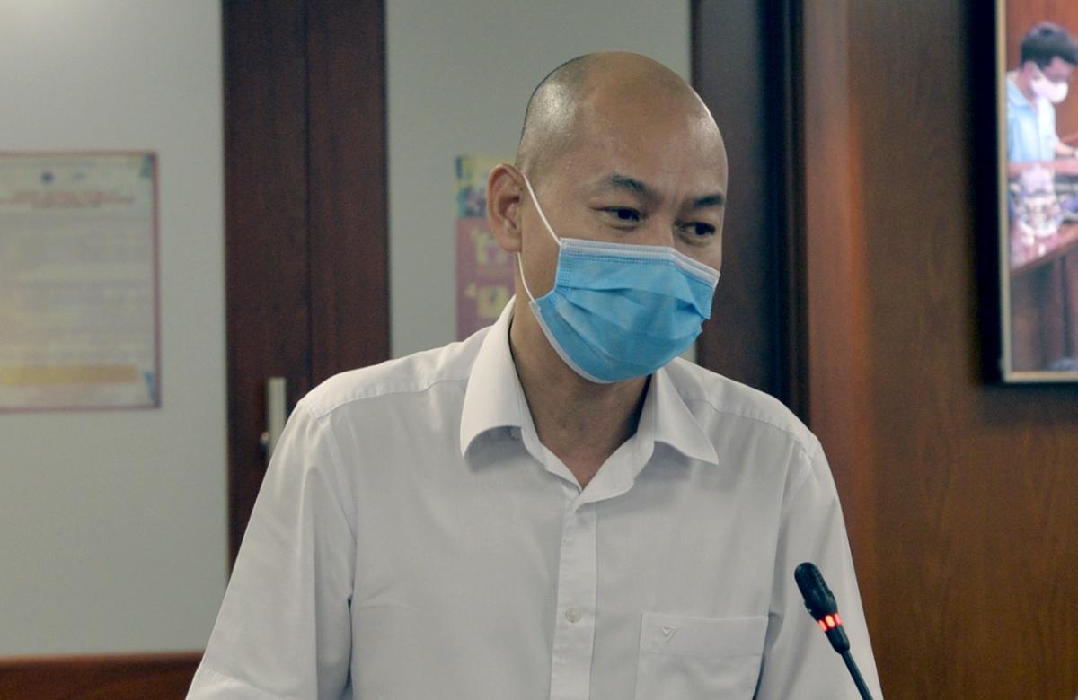 Phó Giám đốc Sở Công thương TP.HCM Nguyễn Nguyên Phương