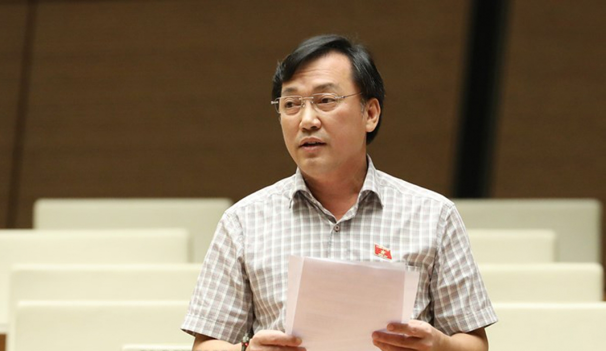 Ông Phan Viết Lượng - Ủy viên thường trực Uỷ ban Văn hoá - Giáo dục - Thanh niên - Thiếu niên và Nhi đồng của Quốc hội