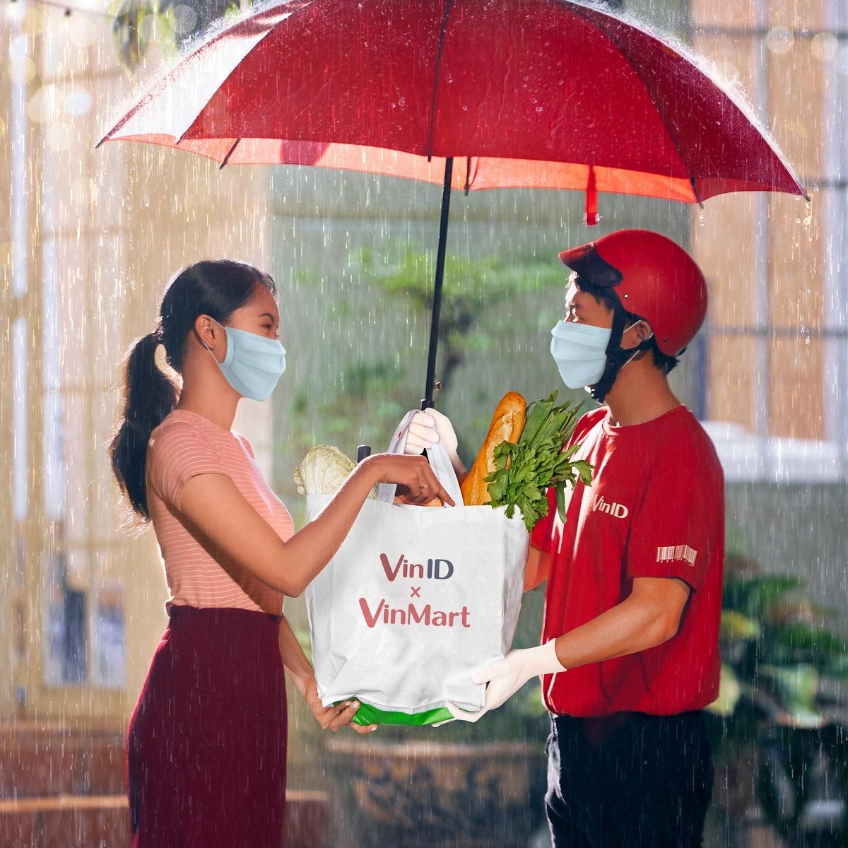 Khách hàng có thể mua sắm thuận tiện, an toàn qua VinID trong thời gian dịch bệnh.