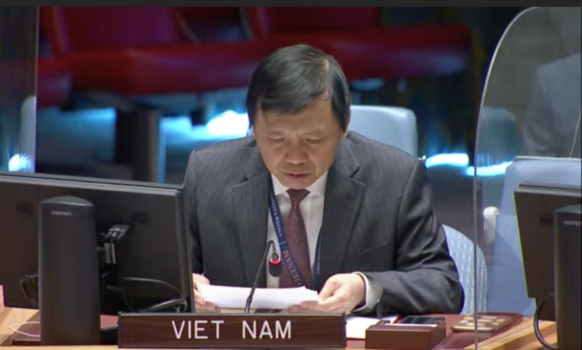 Đại sứ Đặng Đình Quý, Trưởng Phái đoàn thường trực Việt Nam tại Liên Hợp Quốc.