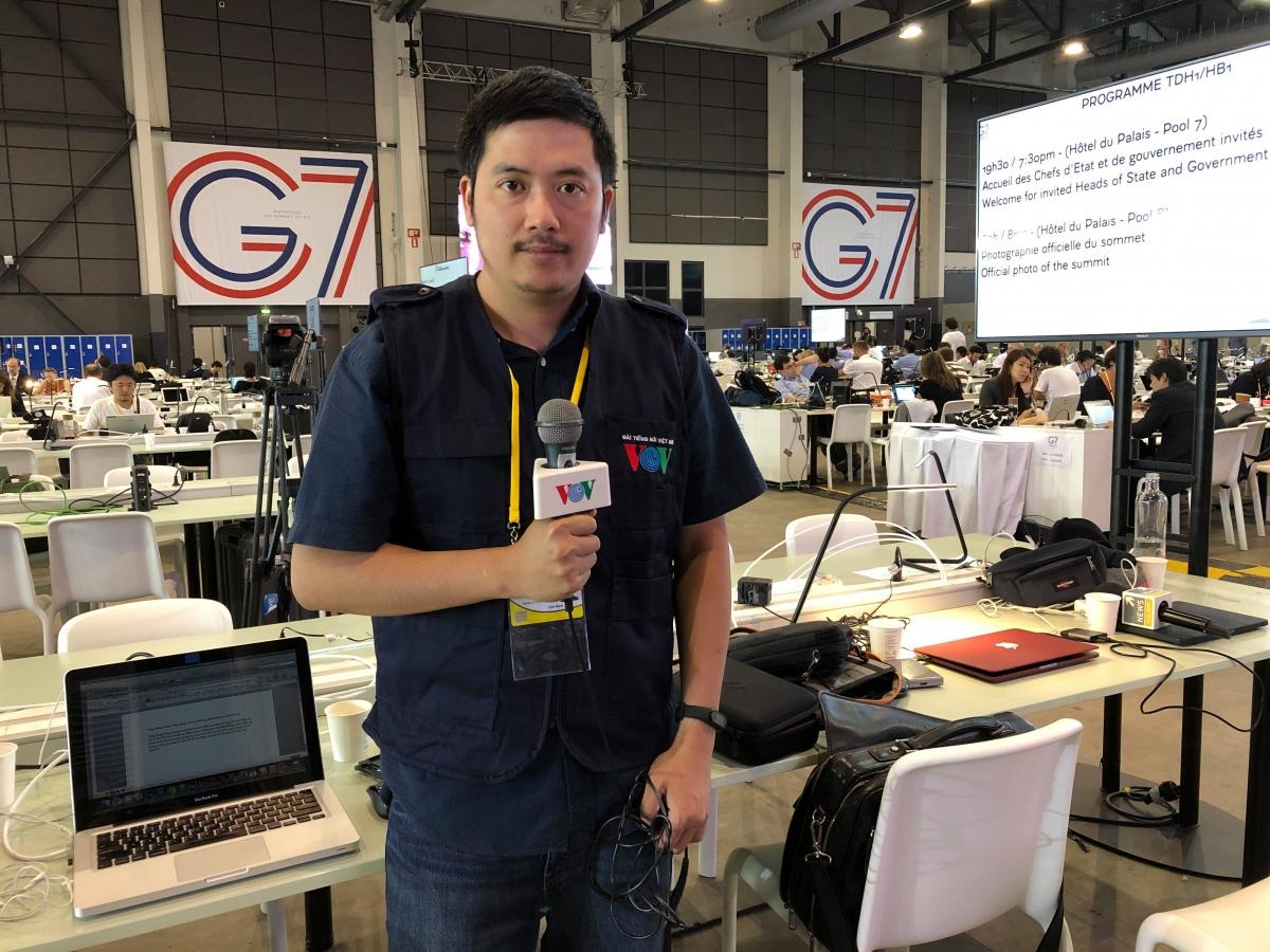 Nhà báo Quang Dũng - Thường trú VOV tại Pháp