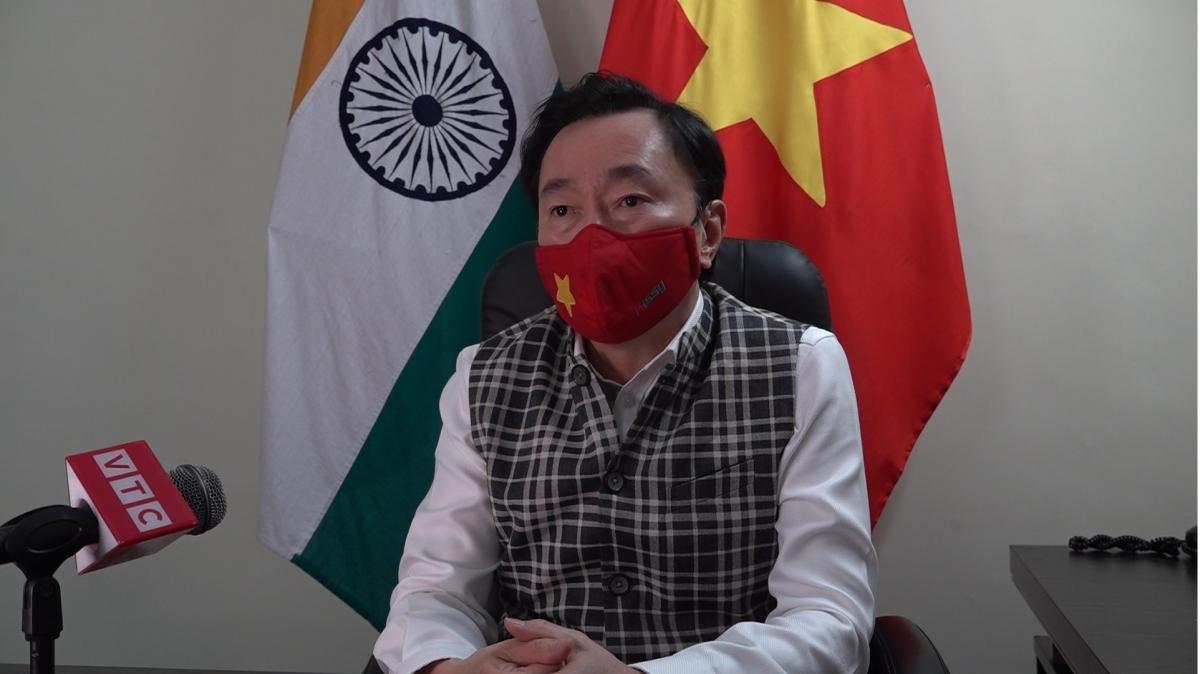 Đại sứ Việt Nam tại Ấn Độ Phạm Sanh Châu.