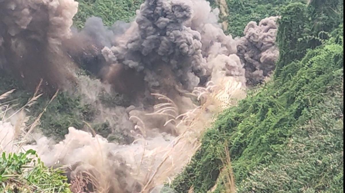Quảng Nam đã đánh sập hoàn toàn 75 hầm vàng trong Vườn quốc gia Sông Thanh.