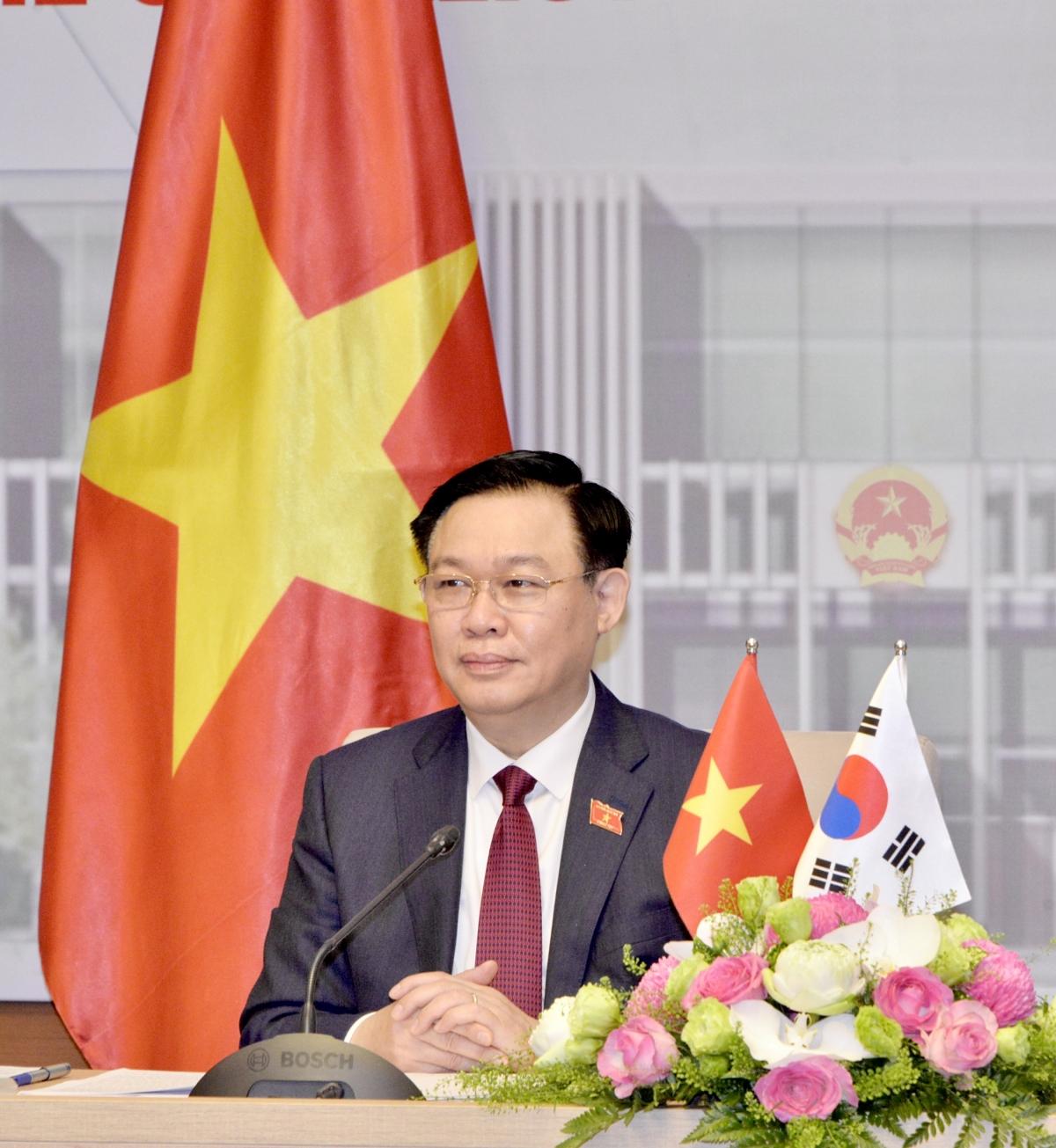 Chủ tịch Quốc hội Việt Nam Vương Đình Huệ