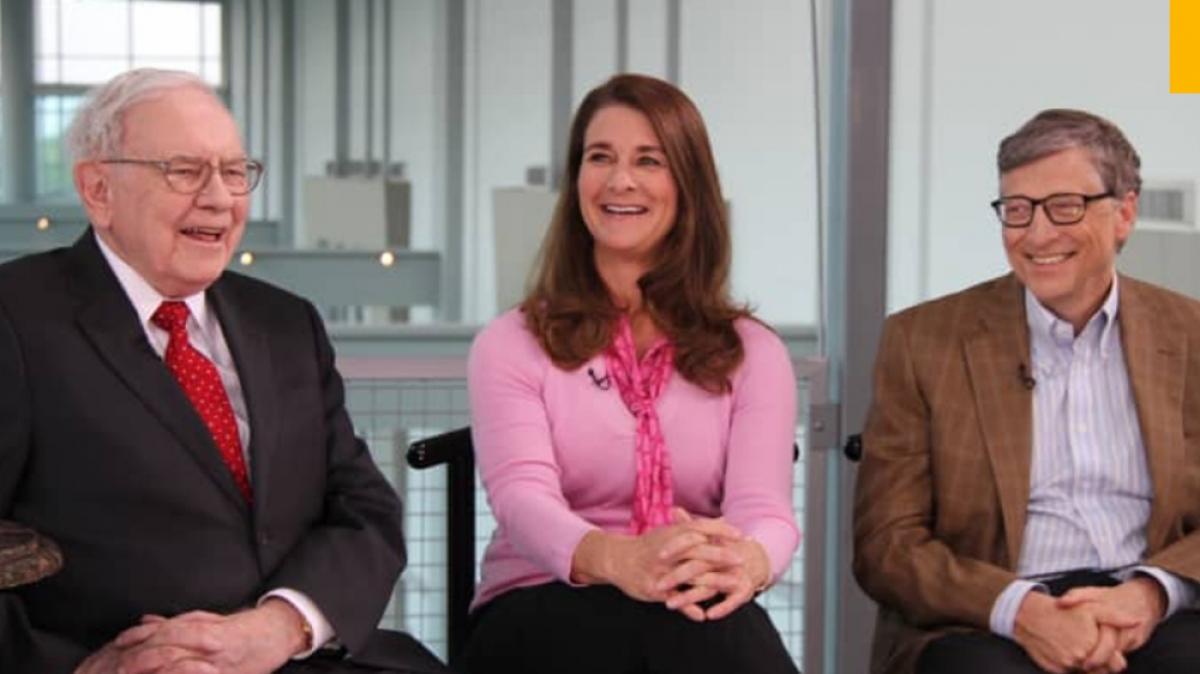 Quỹ Bill & Melinda Gates Foundation có 3 người được ủy thác là Bill Gates, bà Melinda French Gates và Warren Buffett. (Ảnh: CNBC)