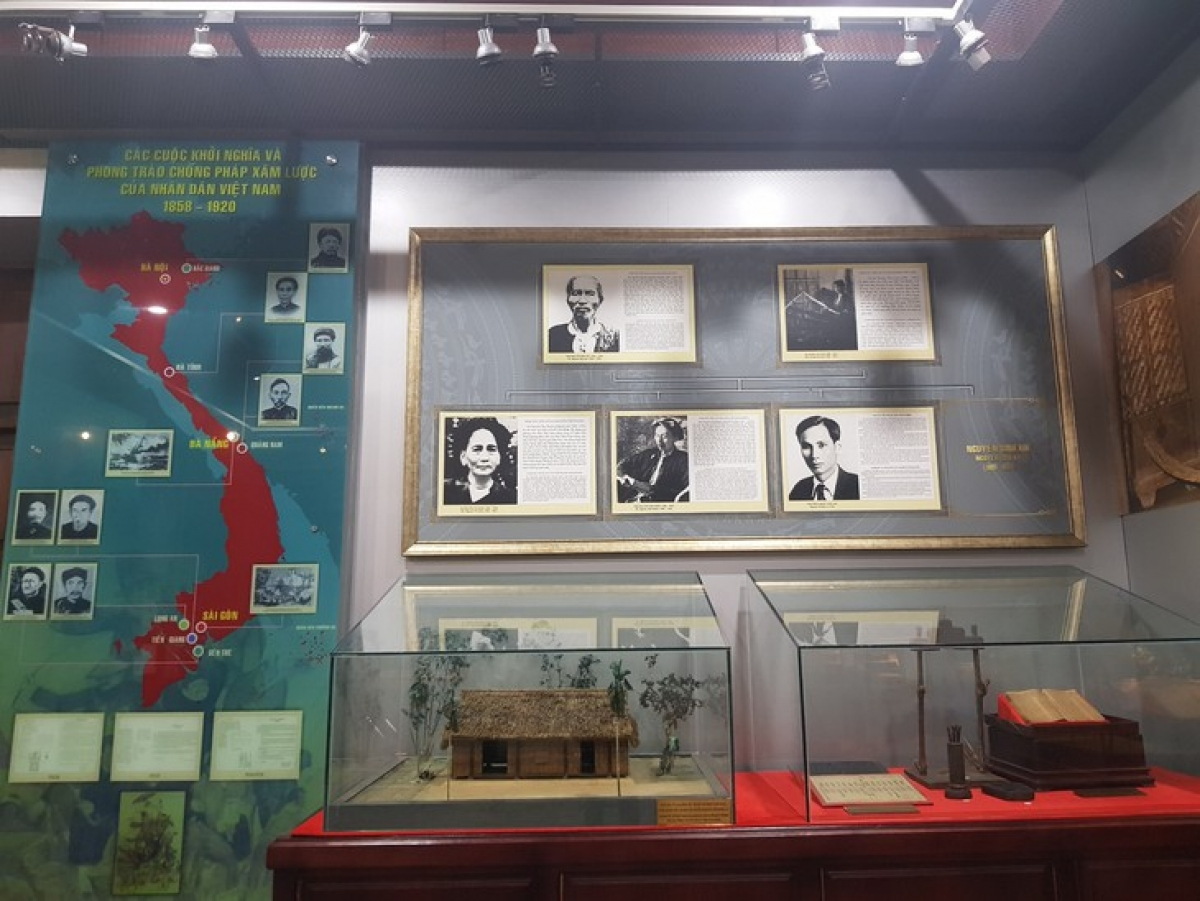 The Ho Chi Minh Museum tells about President Ho Chi Minh's family