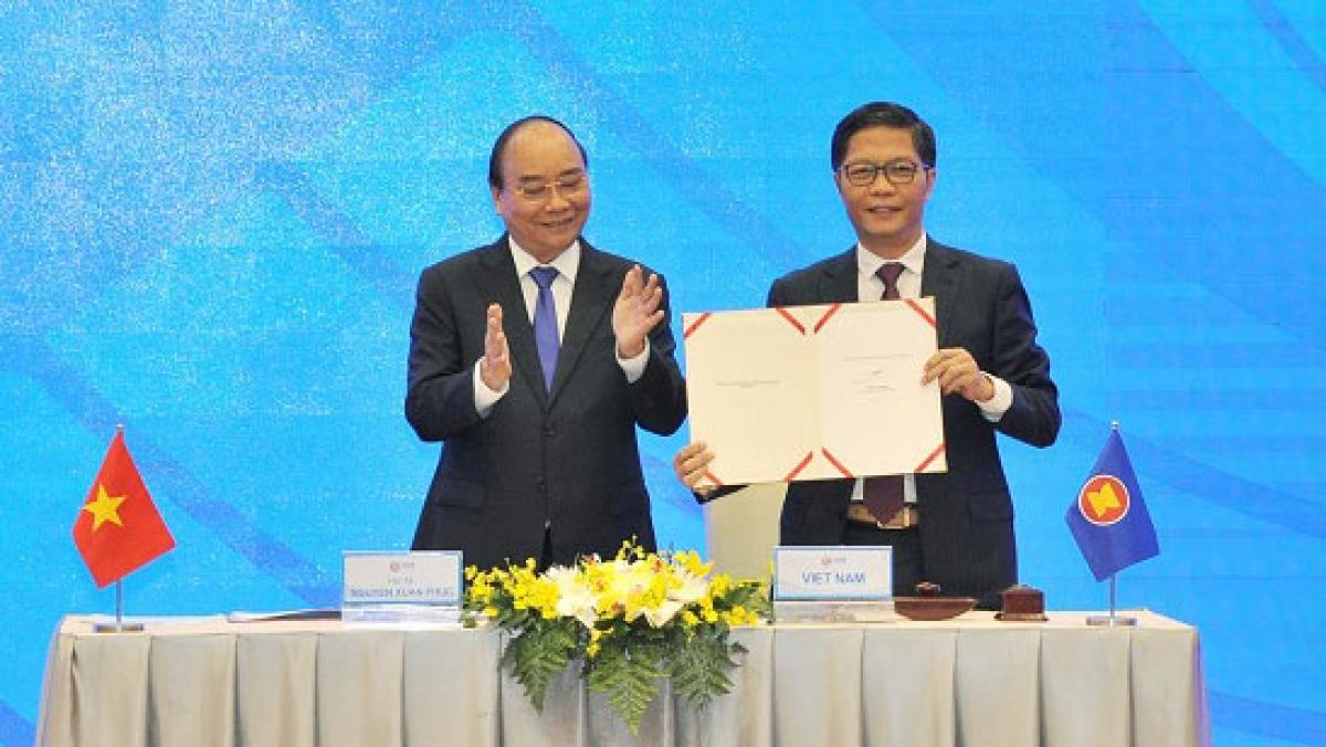 Hiệp định Đối tác kinh tế toàn diện khu vực (RCEP) đã chính thức được ký kết ngày 15/11/2020.
