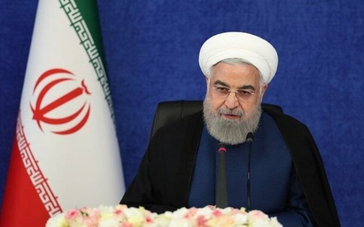 Tổng thống Rouhani. Ảnh: IRNA.