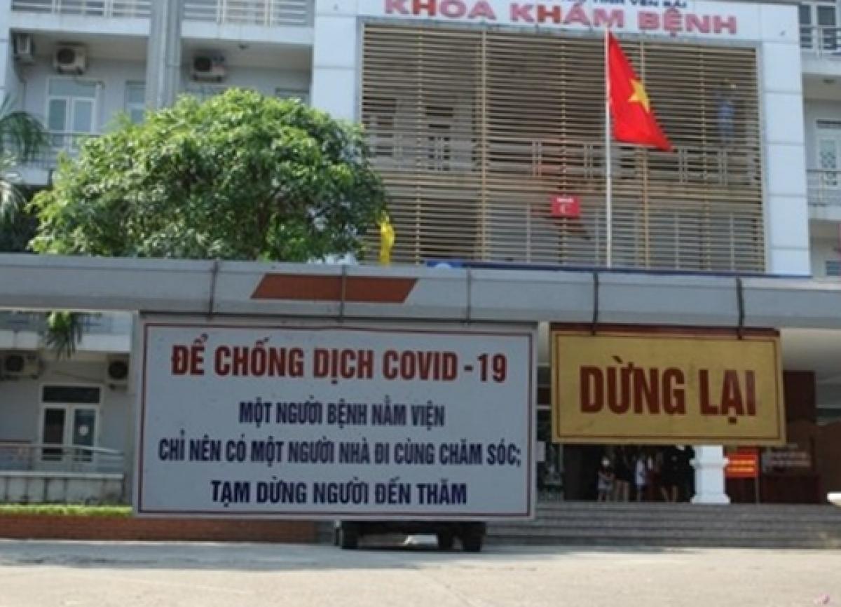 Bệnh viện Sản-Nhi Yên Bái.