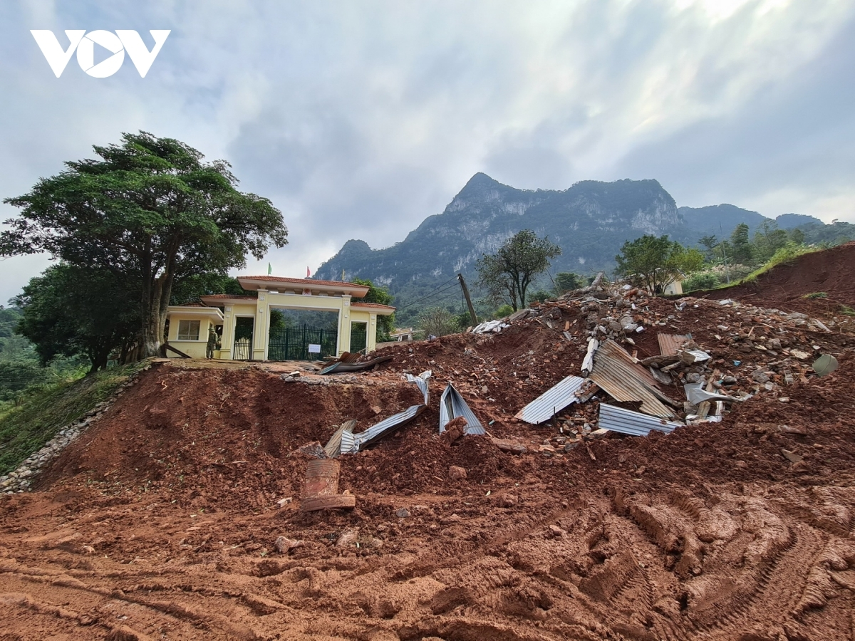 Cảnh báo nguy cơ sạt lở đất do bão số 2 có hoàn lưu đã gây mưa lớn diện rộng