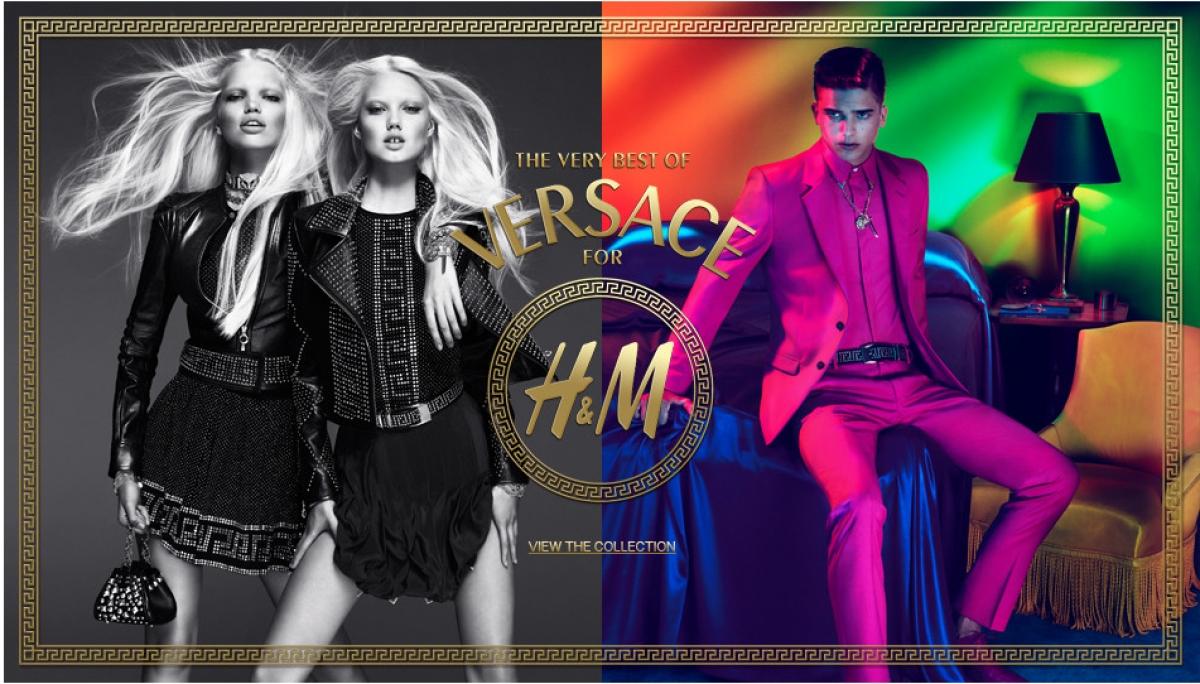 Bộ sưu tập Versacedành cho H&Mcó đầy đủ những tác phẩm đã làm nên huyền thoại của nhà Versace.