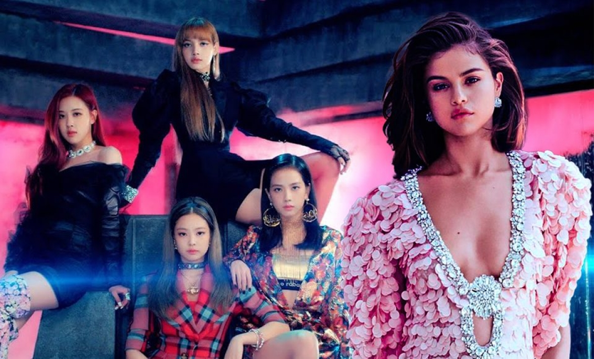 "BLACKPINK kết hợp với Selena Gomez trong MV ""Ice cream""."