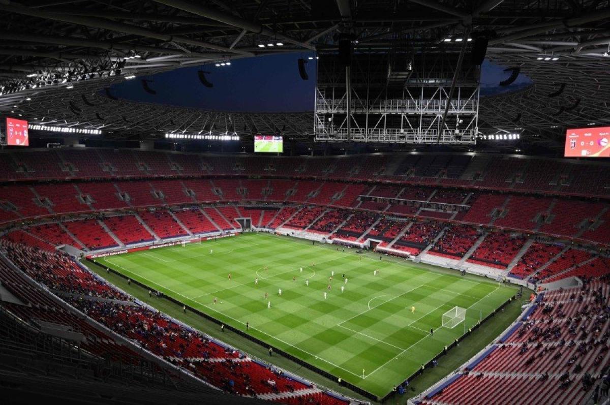 Sân Puskas sẽ được đón lượng khán giả tương đương 100% sức đến theo dõi trận Hungary - Bồ Đào Nha. (Ảnh: Getty).