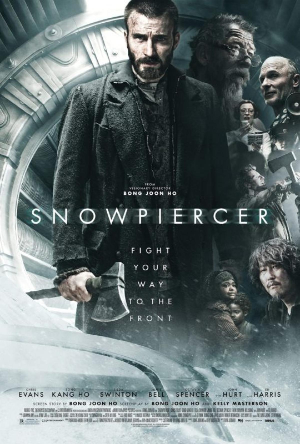 """Song Kang Ho từng tham gia bộ phim """"Snowpiercer"""" với sự xuất hiện của dàn diễn viên tên tuổi Hollywood."""