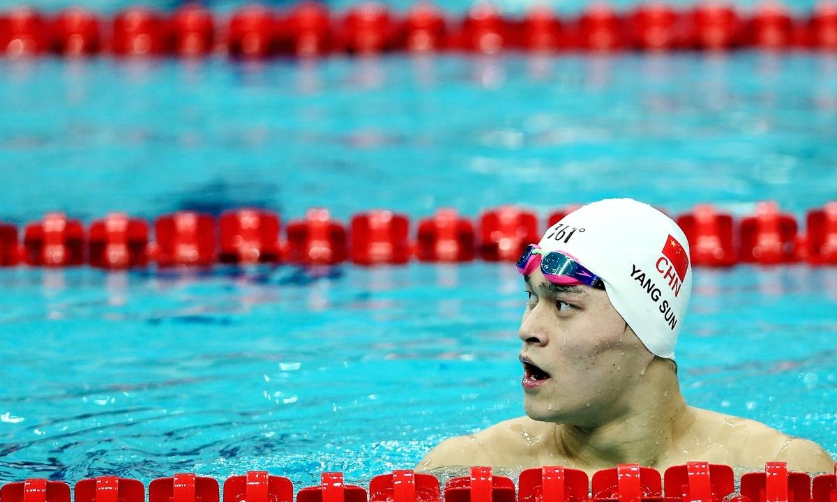 Sun Yang được giảm án phạt cấm thi đấu từ 8 năm còn 4 năm 3 tháng. (Ảnh: Reuters)