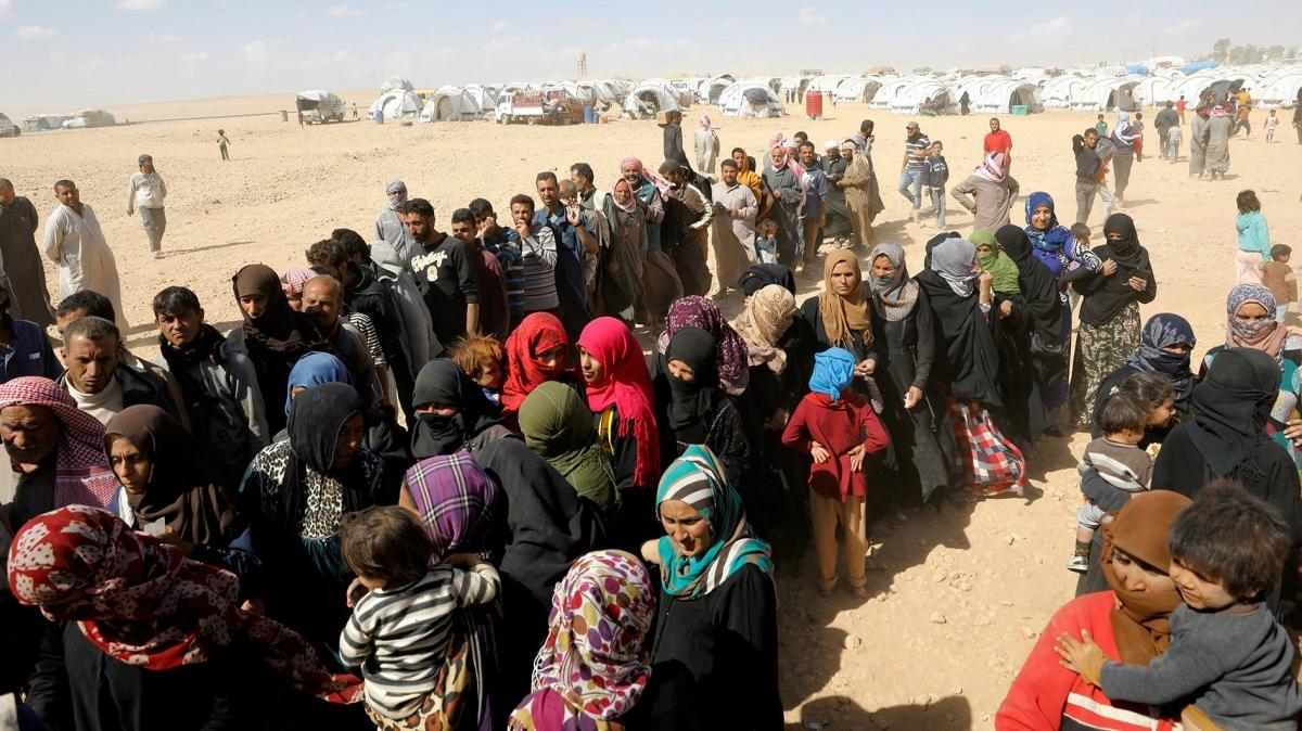 Người dân tại một trại tị nạn ở Syria. Ảnh: Reuters