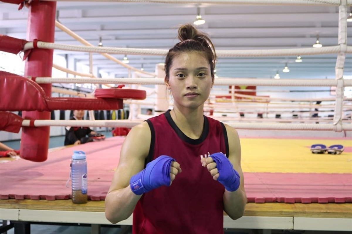 Local boxer Nguyen Thi Tam is qualified for the upcoming 2021 Tokyo Olympics.