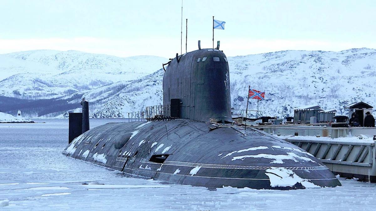 Tàu ngầm Severodvinsk lớp Yasen của Nga. Ảnh: Bộ Quốc phòng Nga