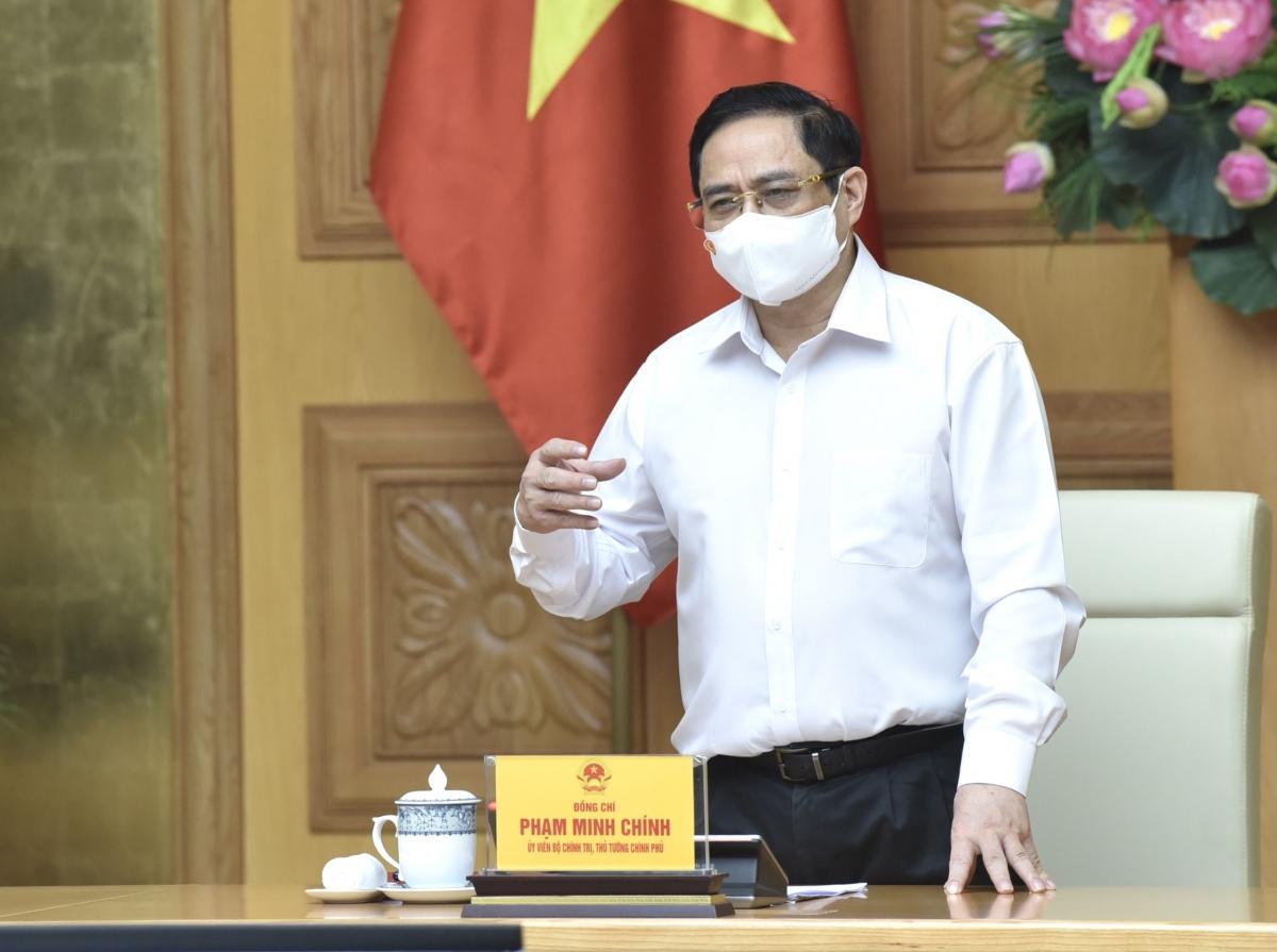Thủ tướng phát biểu chỉ đạo tại buổi làm việc