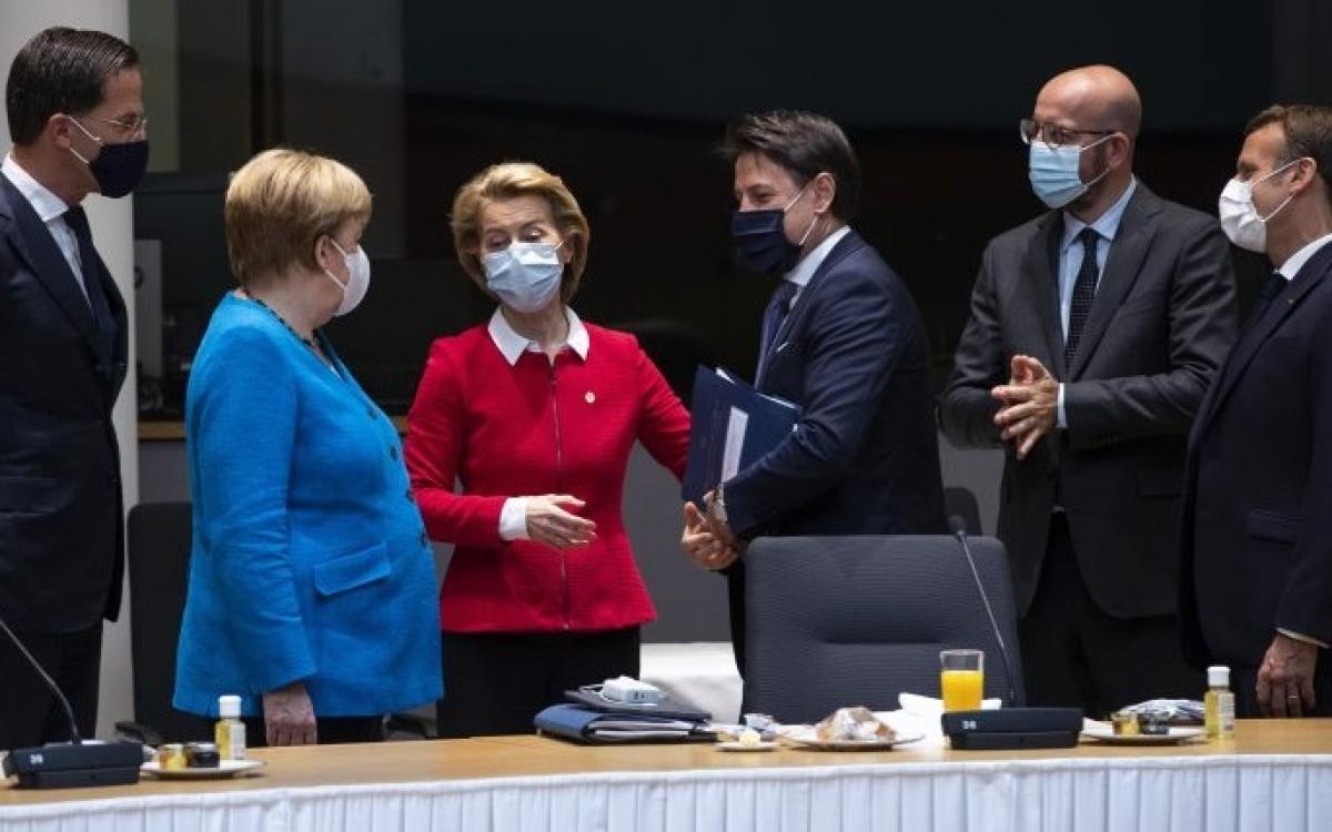 Các đại biểu dự Thượng đỉnh EU 2021. Ảnh: Euractiv.