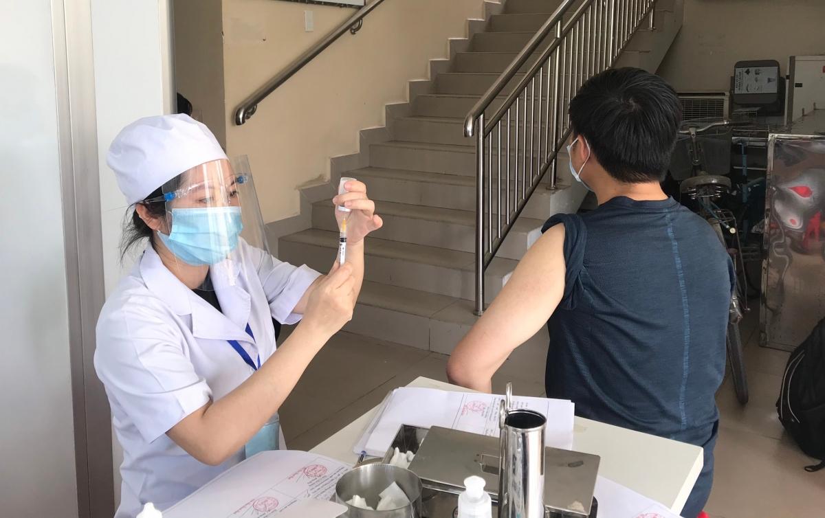 Tổ chức tiêm chủng vaccine phòng Covid-19 (Trung tâm Y tế TP.Thủ Đức)