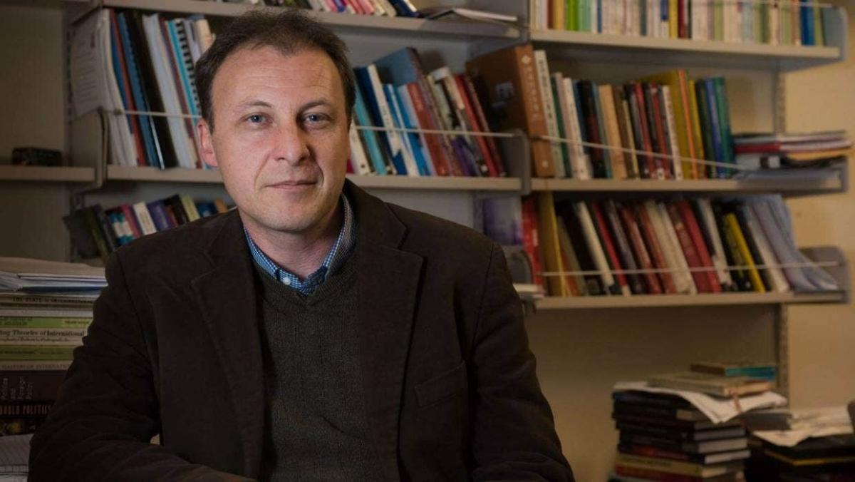 Tiến sĩ Jason Young, Giám đốc Trung tâm Nghiên cứu Trung Quốc đương đại của New Zealand. Ảnh Stuff.