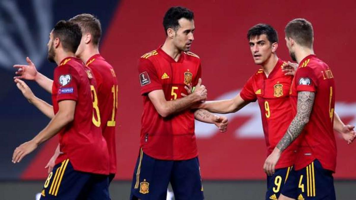 ĐT Tây Ban Nha được đánh giá cao nhất bảng (Ảnh: Getty).