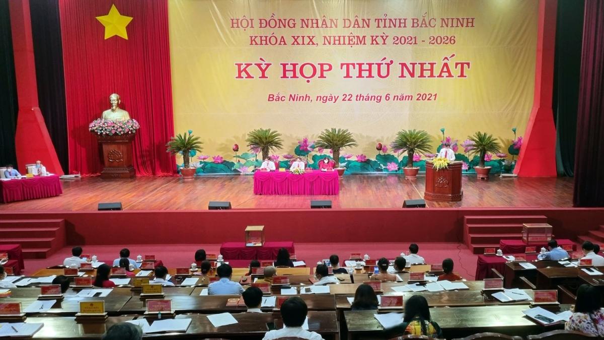 Kỳ họp thứ nhất HĐND tỉnh Bắc Ninh nhiệm kỳ 2021-2026
