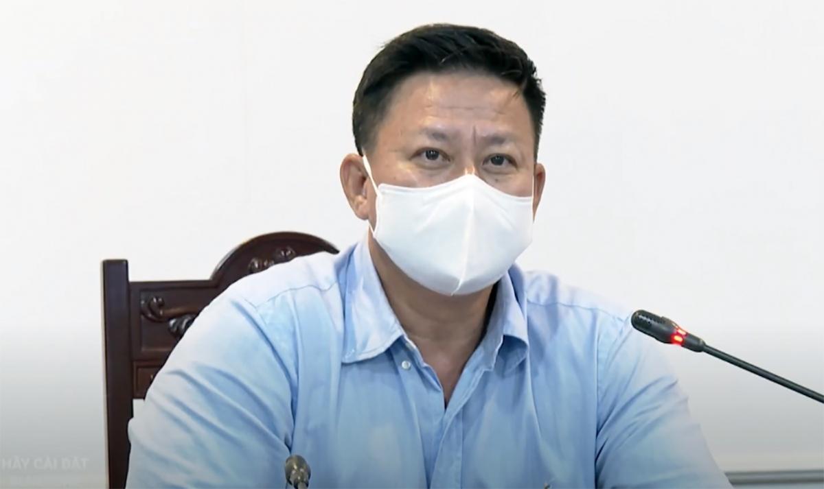 Chủ tịch UBND tỉnh Tây Ninh Nguyễn Thanh Ngọc.