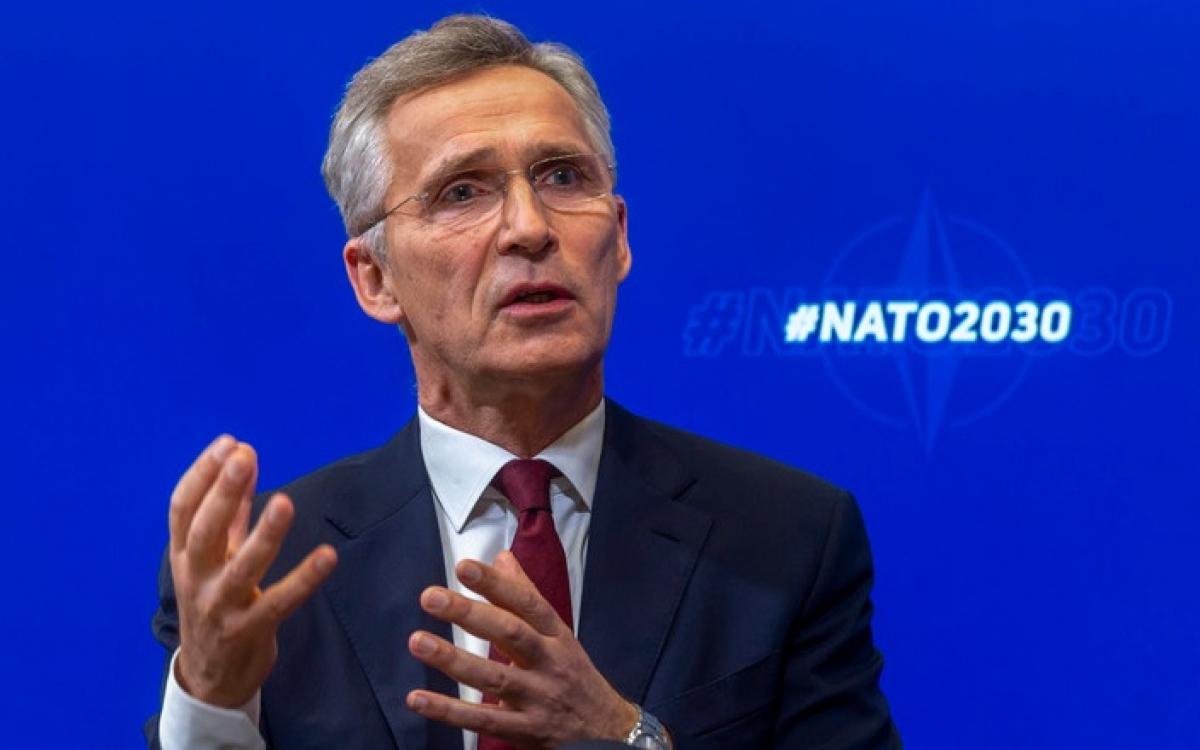 Tổng thư ký NATOStoltenberg. Ảnh: NATO.
